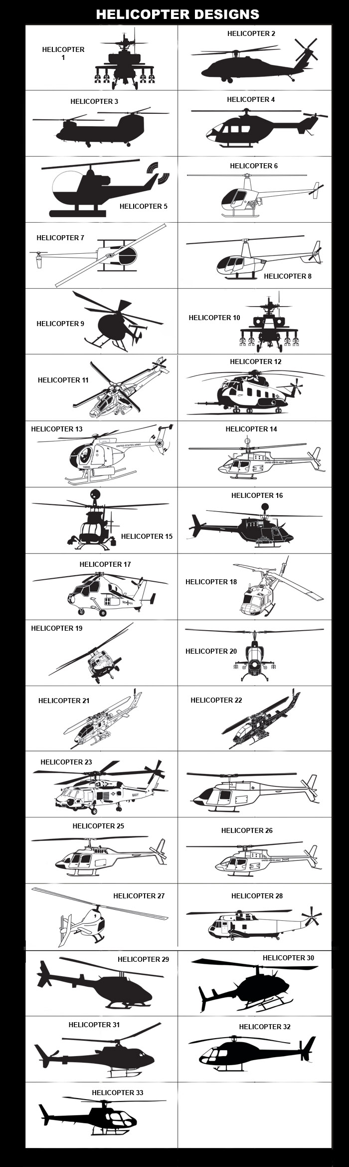 Apache Helicopter, AStar Helicopter, AS350, Helicopter Pilot, Blackhawk Helicopter, Chinook Helicopter, Robertson Helicopter, Army Helicopter, Navy Helicopter, Pilot License, Sea Cobra Helicopter, Sea King Helicopter, Seahawk Helicopter, Bell Helicopter