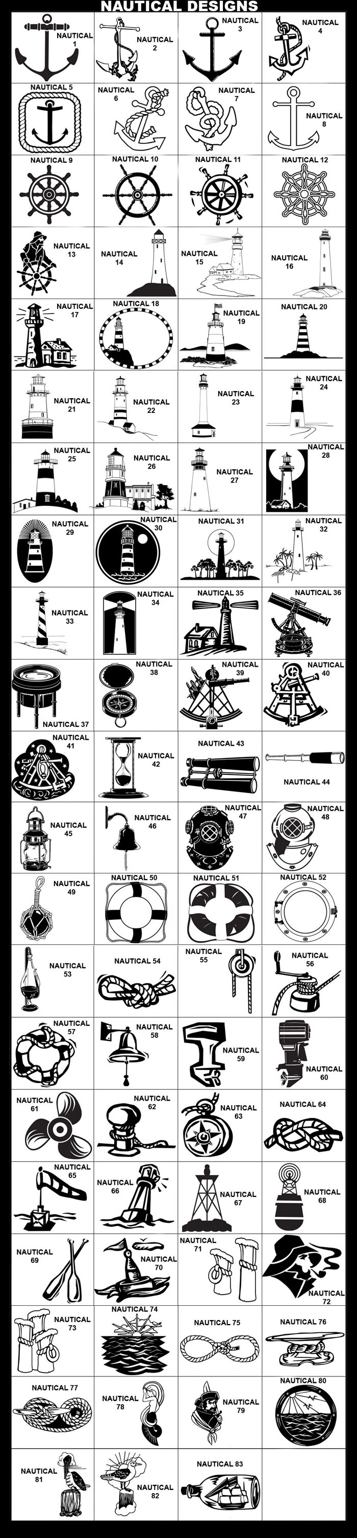 Nautical, Alidade Compass, Chart Magnifier, Compass, Sextant, Hourglass, Binoculars, Lantern, Bell, Ship Bell, Fishing Float, Life Ring, Life Preserver, Porthole, Weatherglass, Nautical Rope, Pulley, Boat Motor, Outboard Motor, Propeller, Nautical Knot, Nautical, Buoy, Paddles, Oars, Ocean Sunset, Bowline, Cleat, Cleat & Rope, Mermaid, Pirate, Porthole View, Pelican, Seagulls
