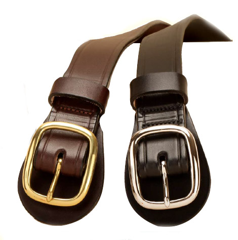 Equestrian breast plate leather belt.