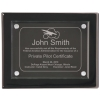 Pilot Certificate Floating Acrylic Plaque