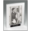 Silver Picture Frame w/ Engraved Text