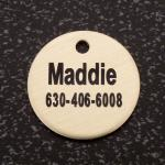 Personalized Engraved Brass Bridle Tag